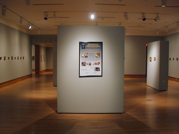 Siegrist Exhibition at the Dennos Museum, Traverse City, MI