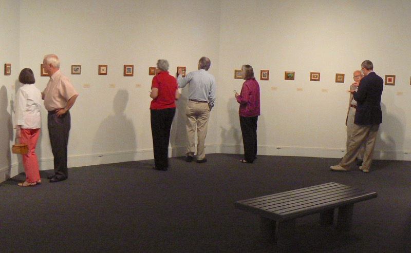 Siegrist Exquisite Miniatures Exhibition at the Albany Museum of Art
