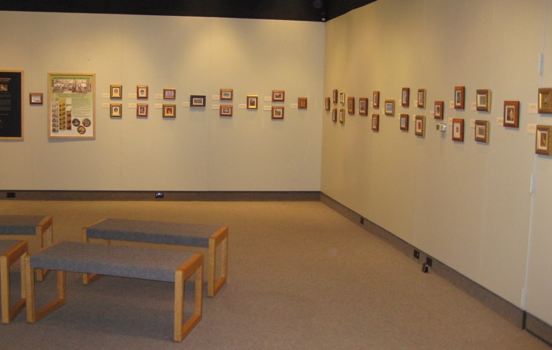 Siegrist Exhibition at the Stauth Memorial Museum, Monetzuma, KS