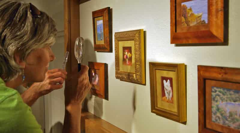 Looking at Siegrist Paintings Through a Magnifying Glass