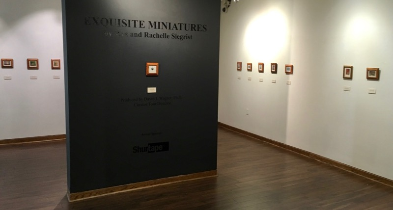 Traveling Museum Exhibition of Miniature Paintings by Wes