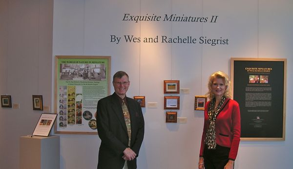Siegrist Exhibition at the Yadkin Cultural Arts Center, Yadkinville, NC