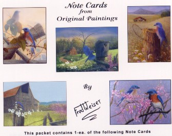 Bluebird Note Cards
