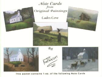 Cades Cove Note Cards