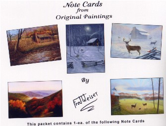 Bird Note Cards, Set Two